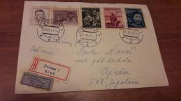 Old Letter - Czechoslovakia - Corréo Aéreo
