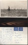 8098) SAILING OFF THE ISLE OF WIGHT VIAGGIATA 1959 - Inghilterra