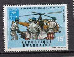 Rwanda, Hélicoptère, Helicopter, Militaria, Garde Nationale, Tir à L'arc, Archery, Sauvetage, Ambulance - Helikopters