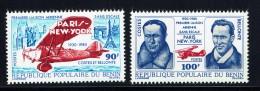 1980  Première Liaison Aérienne Paris - New-York Sans Escale  ** - Benin - Dahomey (1960-...)