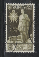 3RG793 - REGNO 1936 ,  30 Cent N. 420  . Augusto - Gebraucht