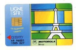 CARTE GSM/ SIM SFR  Motorola - Mobicartes (GSM/SIM)