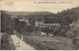 CPA - 76 - Saint Pierre En Port - Le Vallon Et Les Bois - N° 812 - Fécamp
