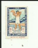 1 Timbre Publicitaire (Comité National De Defense Contre La Tuberculose_2 Sous Pour La Santé) Depart De S & M 77 - Advertising