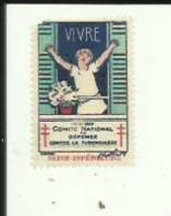 1 Timbre Publicitaire (Comité National De Defense Contre La Tuberculose_) Vivre  _Depart De Sne_Inf 76 - Advertising