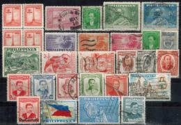 PHILIPPINEN 1946-1959  - Lot 29 Verschiedene  Used - Philippinen
