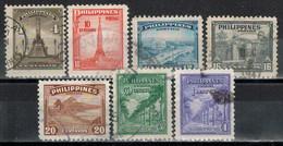 PHILIPPINEN 1947  - MiNr: 462-468 Komplett   Used - Philippinen