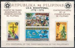 PHILIPPINEN 1976 - MiNr: 1172-1175 - Block 9   ** / MNH - Philippinen