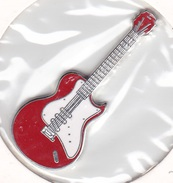 Somalia 1 Dollar Silver 2004 Guitar - UNC - Somalie