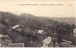 CPA - 76 Saint Pierre En Port - Les Bois Et Le Château De Trémouville - N° 5 - Fécamp