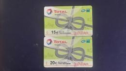 Colleting-total France-(set 31)-(2cards)-mint-(15,20euro)+2card Prepiad Free - Télécartes