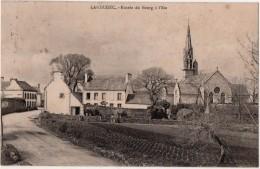 Landudec Entrée Du Bourg à L Est - Autres Communes