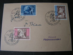 DR Satzbrief Wien 1942 - Germania