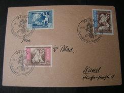 DR Satzbrief Wien 1942  Zudruck - Covers