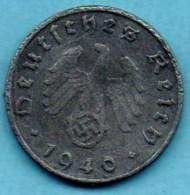 R7/ GERMANY  3° REICH   10  REICHS PFENNIG  1940 B