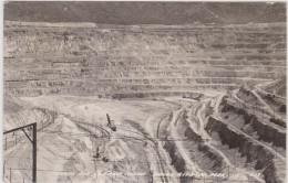 The Open Pit Copper Mine Santa Rita New Mexico - Etats-Unis