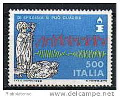 1988 - Italia 1845 Lotta All'epilessia, - Malattie