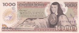 Mexique - Billet De 1000 Pesos - 19 Juillet 1985 - Juana De Asbaje - Neuf - Mexico