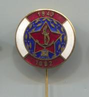 YUGOSLAVIA - Army, JRM Navy, Marine, Kriegsmarine, Ship Boat, Vintage Pin Badge, Abzeichen, Enamel - Bateaux