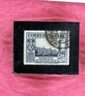 PERU´ 1936 1937 SAN MARCO UNIVERSITY UNIVERSITA'  LIMA CENT. 50 50c USATO USED OBLITERE´ - Peru