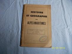 Histoire Et Géographie Du 06 - Côte D'Azur