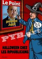 PYB: Halloween Chez Les Ripoublicains [ Satire Politique Sarkozy Juppé ] Tirage 30 Ex. - Illustrateurs & Photographes