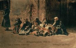 UNIQUE      KRIEGSSCHAUPLATZ VOLKSTYPEN AUS POLEN 1914 1915 - Pologne