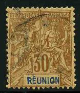 REUNION - YT 40 - TIMBRE OBLITERE - Réunion (1852-1975)