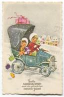 New Year, Neujahr - Christmas, Weihnachten,  Auto, Child - Noël
