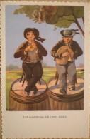 1 Cpa Vierge AU PAYS BRETON LES SONNEURS DE CHEZ NOUS D'après Des Gouaches Originales De M. GEIGER - Unclassified