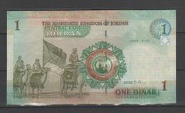 GIORDANIA - 2002 - 1 Dinar Pick 34 - Banconota In Condizioni BB - Jordanie