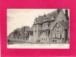 62 PAS DE CALAIS, LE TOUQUET-PARIS-PLAGE, Le Boulevard De La Mer, Animée, Villas, (N.D. Phot) - Le Touquet