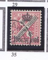 ALLEMAGNE WURTEMBERG 1906 ARMOIRIE 35 OBLIT - Wurttemberg
