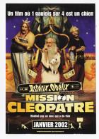 ASTERIX ET OBELIX MISSION CLEOPATRE Carte Postale C 1306 SONIS DEPARDIEU - Affiches Sur Carte