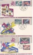 België, Nr 1047/1052, FDC, Expo 58 (07788)