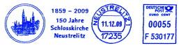 Freistempel 7023 150 Jahre Schlosskirche Neustrelitz - BRD