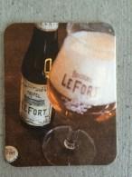 Sous Bock Biére Tripel, Lefort - Beer Mats