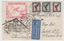 W-L072 / DOX Flug 1931 Nach USA Mit Ankunftsstempel Rio 22.VI.31 Mit Falscher Datumseinstellung, AK Cottbus - Briefe U. Dokumente