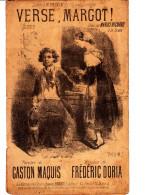 VERSE MARGOT PAROLES DE G MAQUIS MUSIQUE DE F DORIA CREEE PAR MARIUS RICHARD - Music & Instruments
