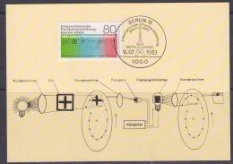 Berlin 1983 Funkausstellung Berlin 1v Maxicard (33190) - [5] Berlijn