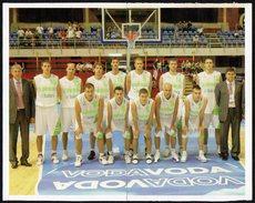 SLOVENIA 2013 - EUROBASKET 2013 - STICKERS SLOVENIA TEAM AT EUROBASKET 2005 - Altri