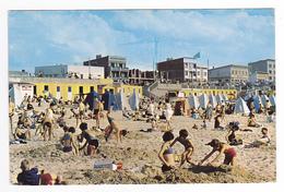 62 Stella Plage Vers Le Touquet N°18 Vue De La Plage Sur Le Cours Des Champs Elysées En 1965 Enfants Sable VOIR DOS - Le Touquet