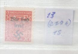 REICHENBERG - MAFFERSDORF 1938 MICHEL 13A (279 A) MNH TBE - Ocupación 1938 – 45