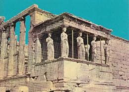 Grecia--Athenas--Portique Of The Caryatides-- - Grecia