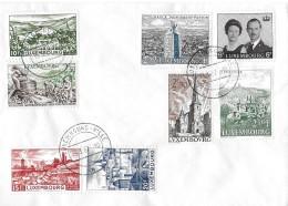 LUXEMBOURG-VILLLE → Bedarfsbrief Ohne Zielort Mit Mischfrankaturen Anno 1967 - Luxemburg