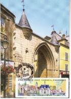 CORBEILLE ESSONNE - Maxifrance 2005 - Carte Maximum Avec Lisa Porte De L Ancien Cloître - Cartoline Maximum