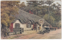 New Forest: BRASS-ERA CAR -'Cat & Fiddle' Inn - (England) - PKW