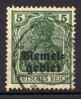 Memel 1920 Mi 1, Gestempelt [301016XIII] - Memelgebiet
