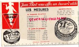 59 - ROUBAIX - BUVARD ETS. JEAN BART - CIRAGE CHAUSSURES - LES MESURES LONGUEUR-POIDS-AGRAIRES - Chaussures