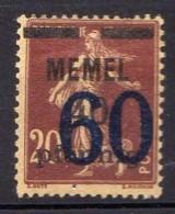 Memel 1921 Mi 35  * [301016XIII] - Memelgebiet